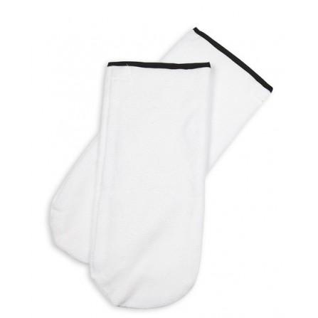 Rękawice Do Parafiny, Rękawiczki Białe Z Frotte