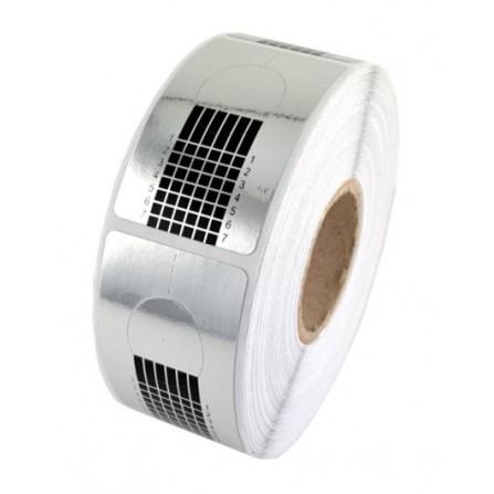 Szablony Formy Do Paznokci Akryl/Żel Silver Standard 10szt