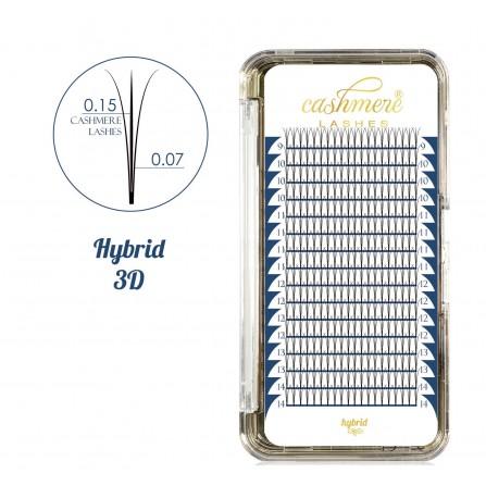 Rzęsy Cashmere Lashes Hybrid 3D Profil C Wonder Lashes