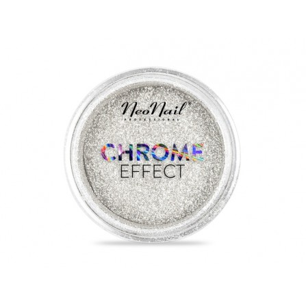NeoNail Pyłek Chrome Effect – Silver