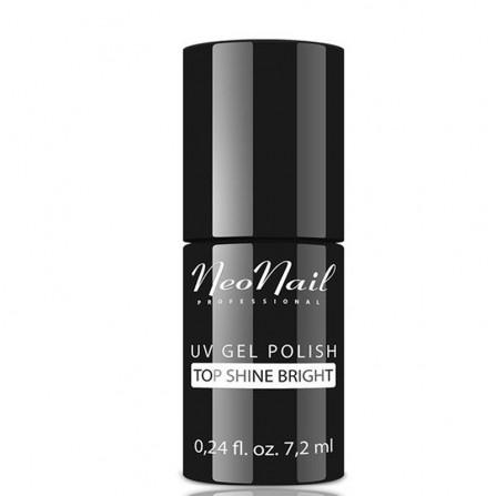 NeoNail Lakier Hybrydowy Top Shine Bright Nabłyszczający
