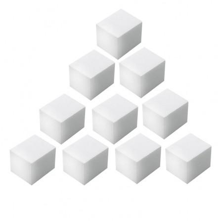 10x Polerka Mini Kostka Biała 100/100