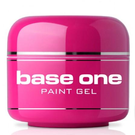 Silcare Base One Żel Hybrydowy Paint Gel Black 5g