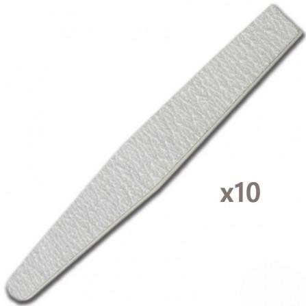 Pilnik Do Paznokci Trapez Trumienka 18cm 10szt.