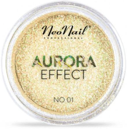 NeoNail Pyłek Do Zdobień Aurora Effect 01