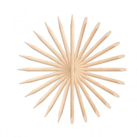 Patyczki Dwustronne z Drewna Pomarańczowego 10 szt