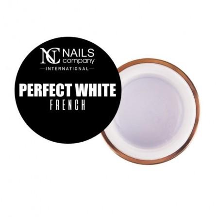 Nails Company GEL PERFECT WHITE 15g - Intensywna biel