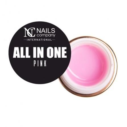 Nails Company żel budujący All In One Pink 15g jednofazowy