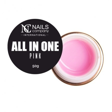 Nails Company GEL ALL IN ONE PINK 50g - Żel jednofazowy