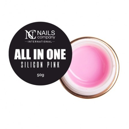 Nails Company GEL All In One Silicon Pink 50g - Żel jednofazowy