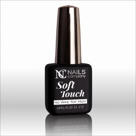 Nails Company TOP MAT SOFT TOUCH - efekt satynowy aksamitny 6ml