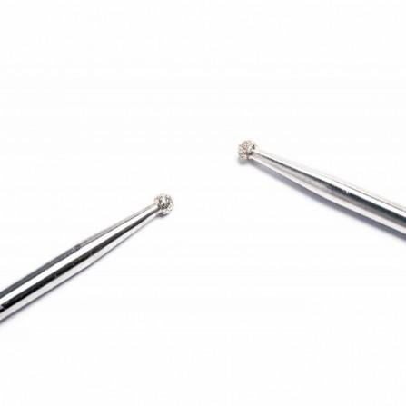 Nails Company frez do skórek kulka delikatny nasyp diamentowy