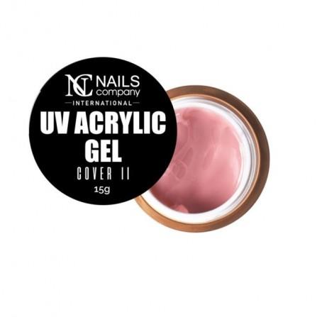 Nails Company COVER 2 akrylożel polygel 15g acrylic gel NOWOŚĆ