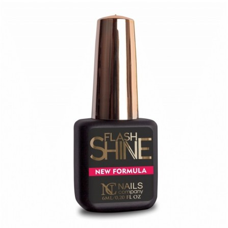 Nails Company Flash Shine New Formula top nabłyszczający 6ml