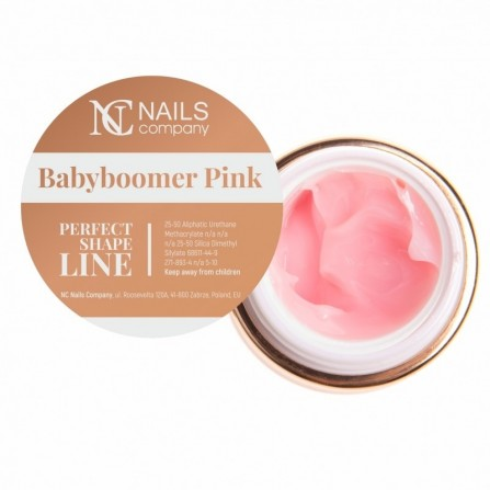 Nails Company BABYBOOMER PINK GEL 50g