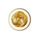 Złoty, brokatowy