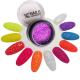Nails Company Crystal Flakes Neon Coral 3g efekt pyłek