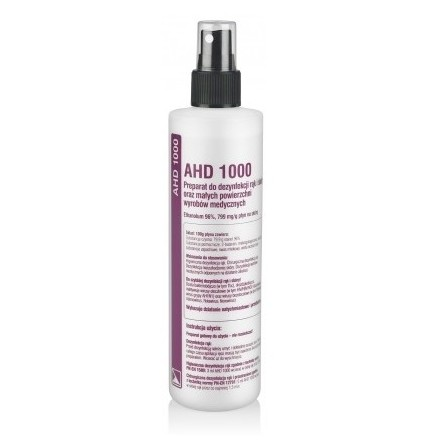 AHD 1000 250ml Płyn Do Dezynfekcji Rąk