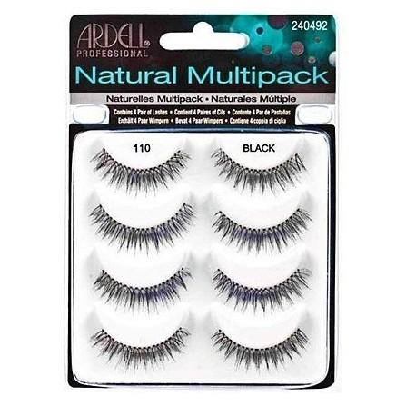 Ardell Naturals Multipack 110 Black Zestaw Rzęs Na Pasku