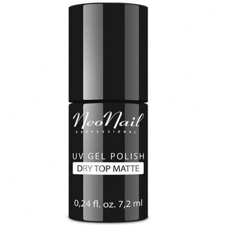 NeoNail Dry Top Matte Lakier Matowy Hybrydowy 7,2ml