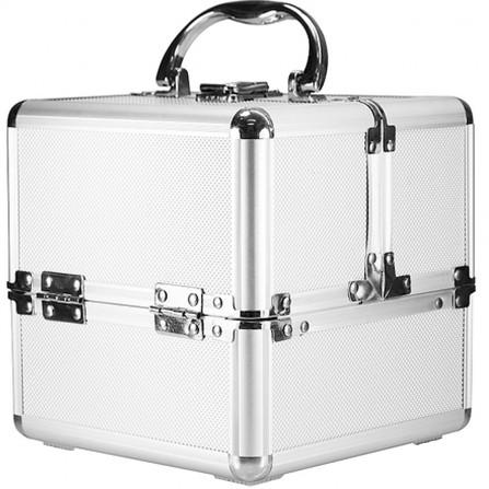 Kufer Kuferek Kosmetyczny Aluminiowy Mini