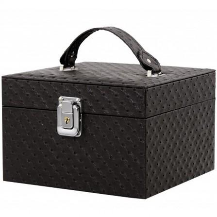 Kufer Kuferek Kosmetyczny Fioletowy