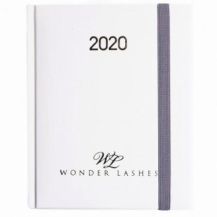 Wonder Lashes Kalendarz 2020 Tygodniowy Biały