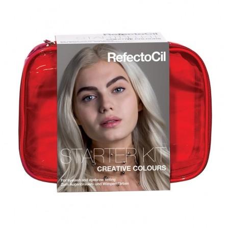 RefectoCil Starter Kit Creative Colours – Zestaw Startowy Do Kreatywnej Koloryzacji Brwi i Rzęs