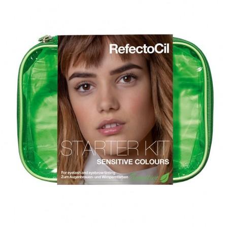 RefectoCil Starter Kit Sensitive – Zestaw Startowy Do Koloryzacji Brwi i Rzęs