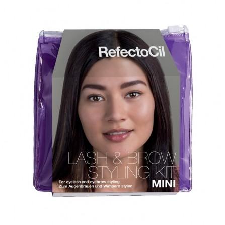 RefectoCil Mini Starter Kit – Zestaw Startowy Do Koloryzacji Brwi i Rzęs