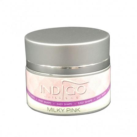 Indigo Easy Shape Milky Pink Żel Budujący 15ml