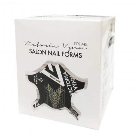 Victoria Vynn Formy Do Paznokci Black Salon Nail Form 100szt.