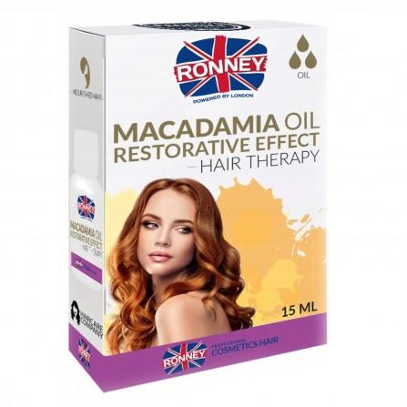 Ronney Olejek Do Włosów Macadamia Wzmacniający 15 ml