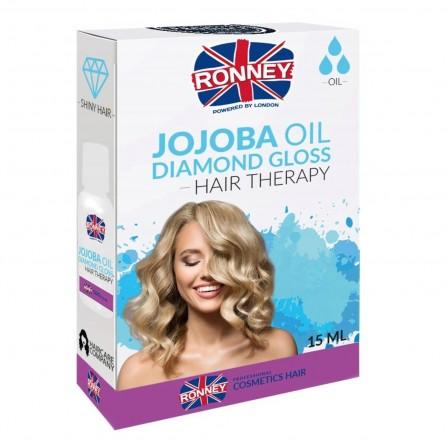 Ronney Olejek Do Włosów  Jojoba Nabłyszczający 15ml