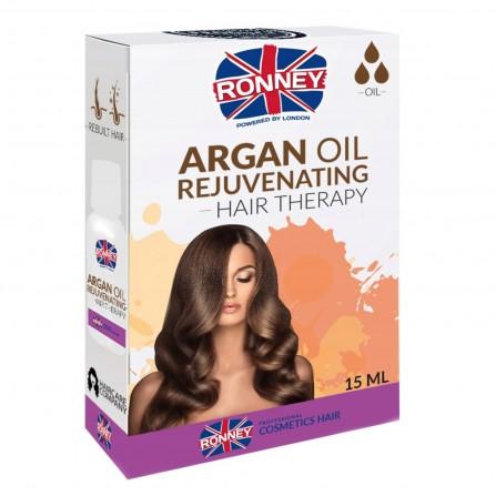 Ronney Olejek Do Włosów Argan Odmładzający 15ml