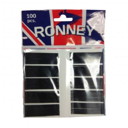 Ronney Wsuwki Do Włosów Proste Czarne 6cm 100szt