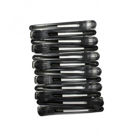 Ronney Klipsy Do Włosów Metal Plastik 99mm 12szt