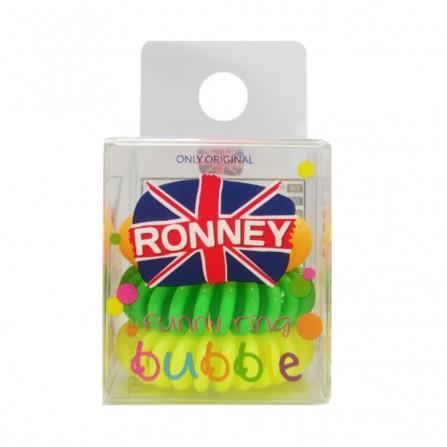 Ronney Gumki Do Włosów Funny Ring Kolorowe 3szt