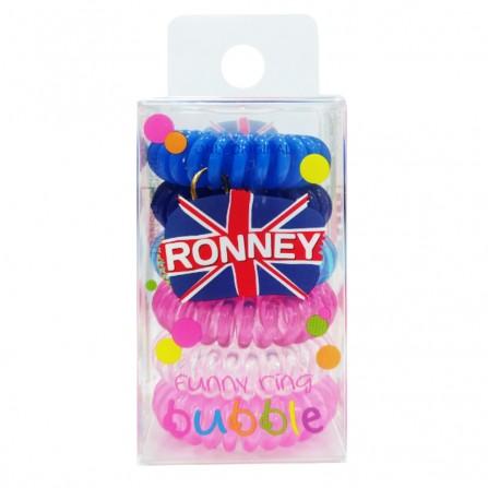 Ronney Gumki Do Włosów Funny Ring Kolorowe 6szt