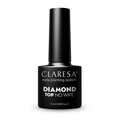Claresa Top Hybrydowy Diamond No Wipe 5ml