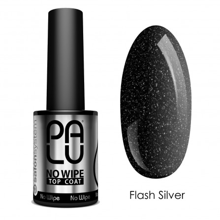 Palu Top Coat No Wipe Flash Silver 11ml