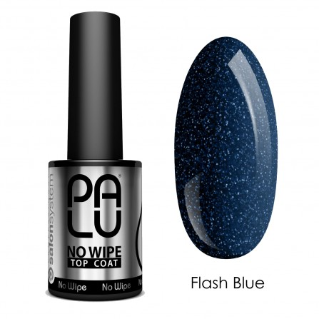 Palu Top Coat No Wipe Flash Blue 11ml