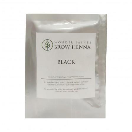 Wonder Lashes Henna Do Brwi 1 saszetka (1g) Black