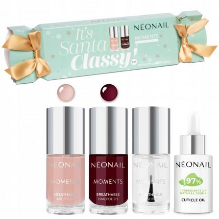 NeoNail Zestaw Świąteczny Santa Classy Manicure