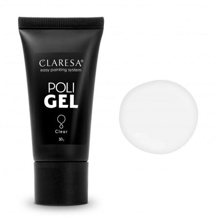 Claresa Poli Gel Akrylożel clear 30g