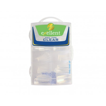 Silcare Tipsy Exellent Clear 10 sztuk