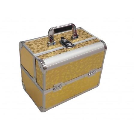 Kuferek Duży Złoty Z Motylkami