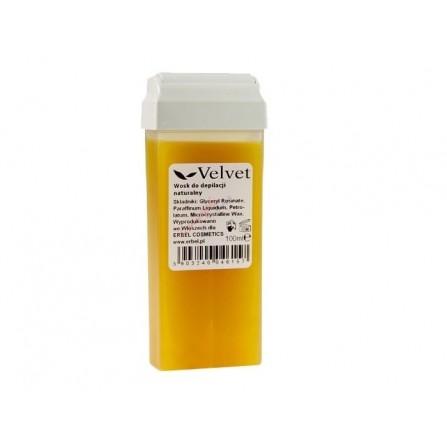 Wosk do Depilacji Szeroka Rolka Naturalny Velvet 100 ml